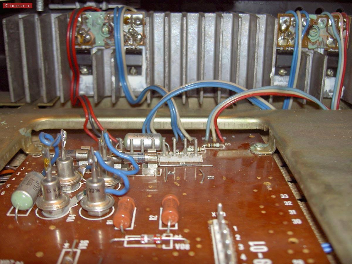 Схема усилителя электроника т1-040