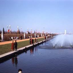 СССР в цветных фотографиях 1961 Херб Гулдон Москва