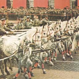 Парад победы 9 мая 1945