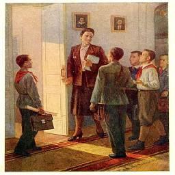 Советская школа-иллюстрации