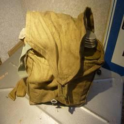 упакованный в сумке