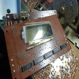 блок электронно-счетной шкалы с жидкокристаллическим индикатором - цифровая шкала