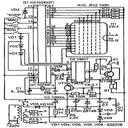 схема электрическая принципиальная c[tvf