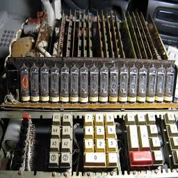 вид калькулятора со снятым кожухом