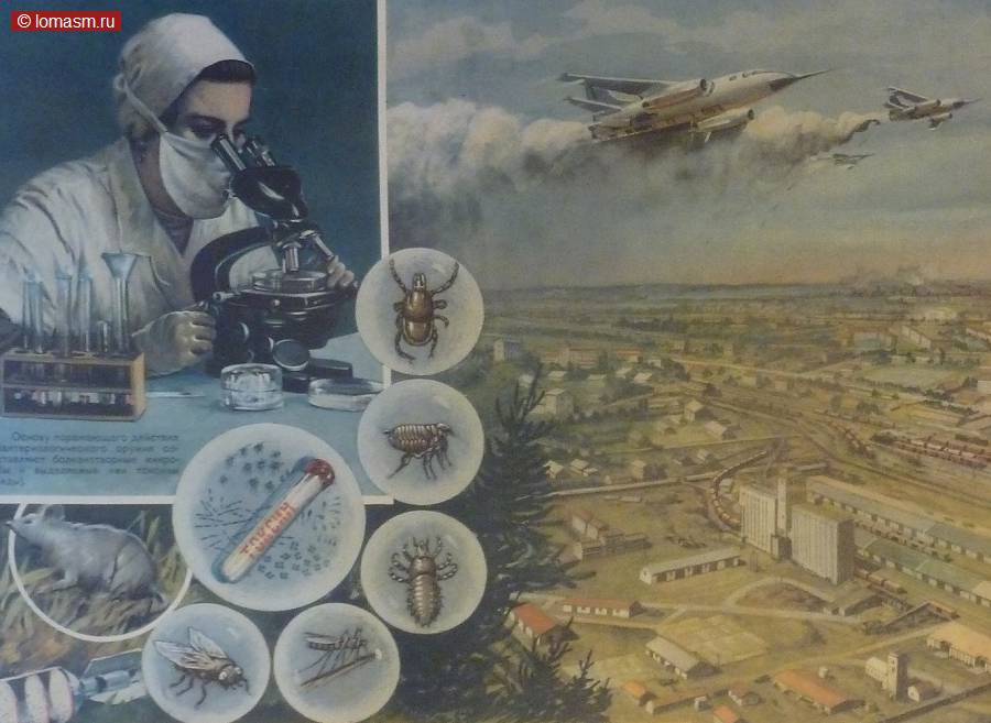 lomasm~ Плакаты гражданской обороны СССР