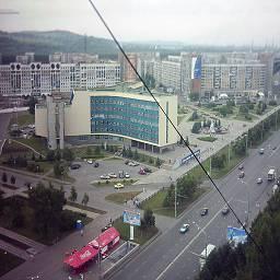 Города России в начале 90х