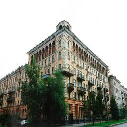 Новокузнецк угол здания старого центра
