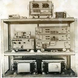 Советская ламповая судовая радионавигационная система кпф-2