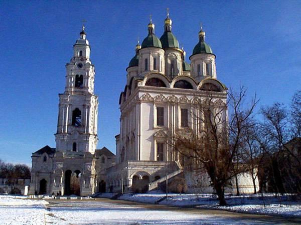 Астраханский кремль, зима 2002