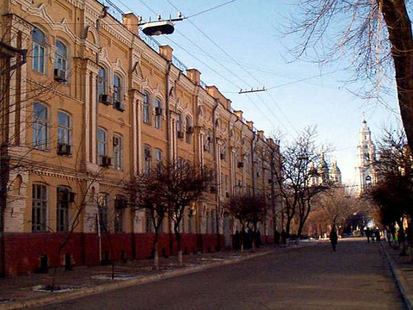 Улица советская Архитектура