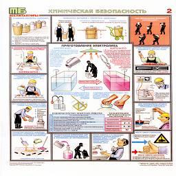 плакат химическая безопасность