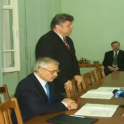 Подписание соглашения о сотрудничестве с КТК