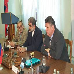 Встреча с губернатором провинции Гилян (Иран)