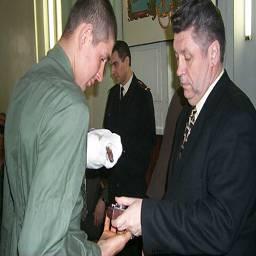 Посещение госпиталя Каспийской Флотилии