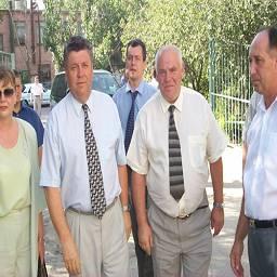 Визит полномочного представителя Президента РФ Виктора Казанцева