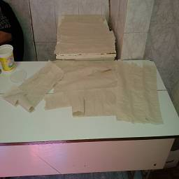 Продажа таулетным работником, туалетной бумаги в речном училище ВГАФТ