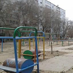Старая Детская площадка Курская 80