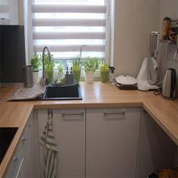Кухня маленькая 6 кв м п образная полуостров