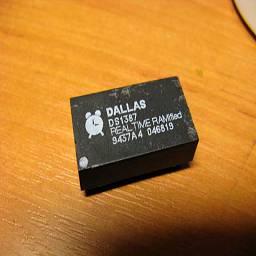 Ремонт микросхемы системного таймера Часы реального времени Dallas DS1287