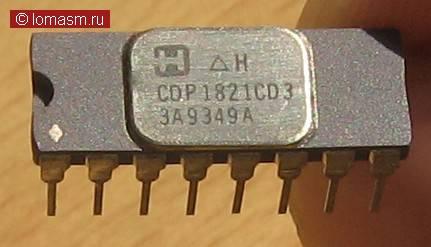 комплект CDP18xx COSMAC