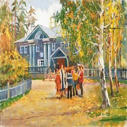 В. Соколов Школа.