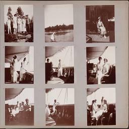 Фотографии семьи Романовых- Семейные фотоальбомы Анны Вырубовой- Альбом 6
