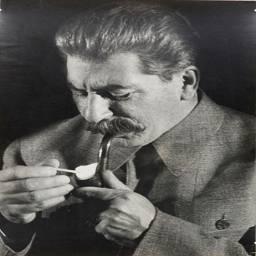 Портрет Сталина. М.В. Альперт, 1930-е.