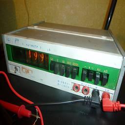 Внешний вид вольтметра В7-22А