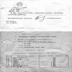 марина~ Номенклатурные перечни предприятий электронной промышленности 90х