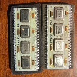 Процессор МК1 Ред3 для Электроники -85 (МС0585), М6 и т.п. Были в своё время аккуратно сняты с рабочих процессоров М6, которые ушли на списание.