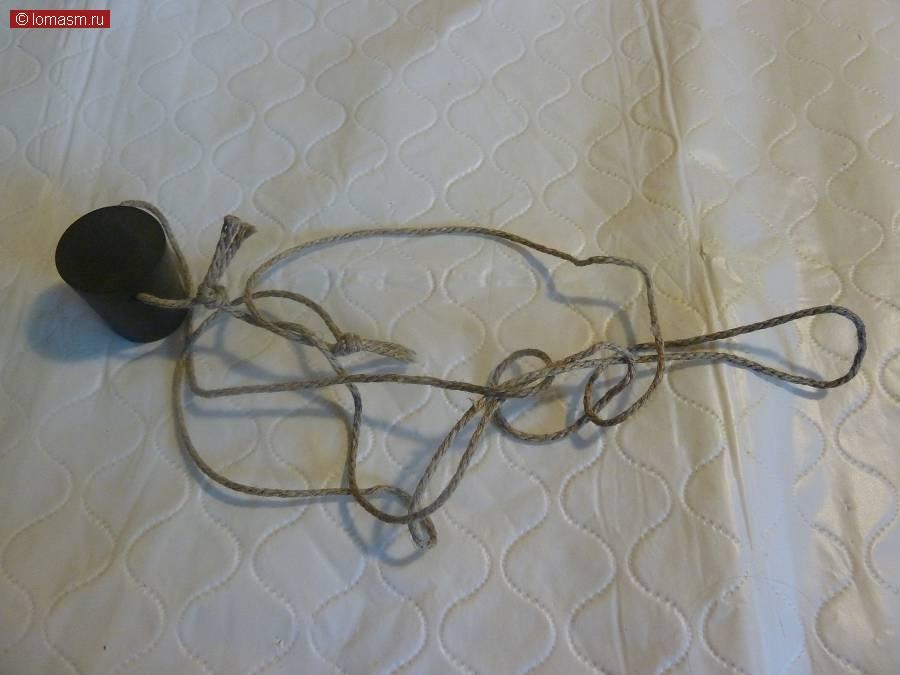 Пробка для лабораторной тары, на шнурке