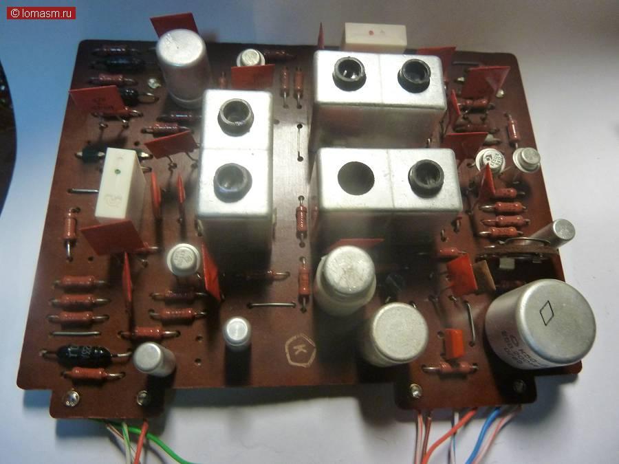 плата УПЧ-AM амплитудного детектора