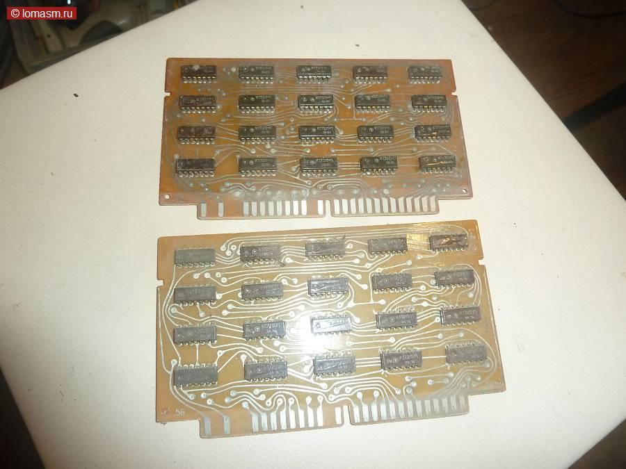 П4-112-3 (2 шт) Микросхемы: к172лм1, к172ли1, к172тр1