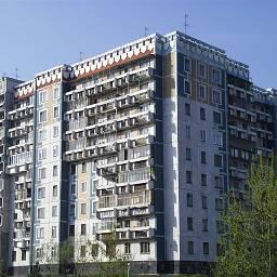 угол 9-ти этажки Новокузнецк
