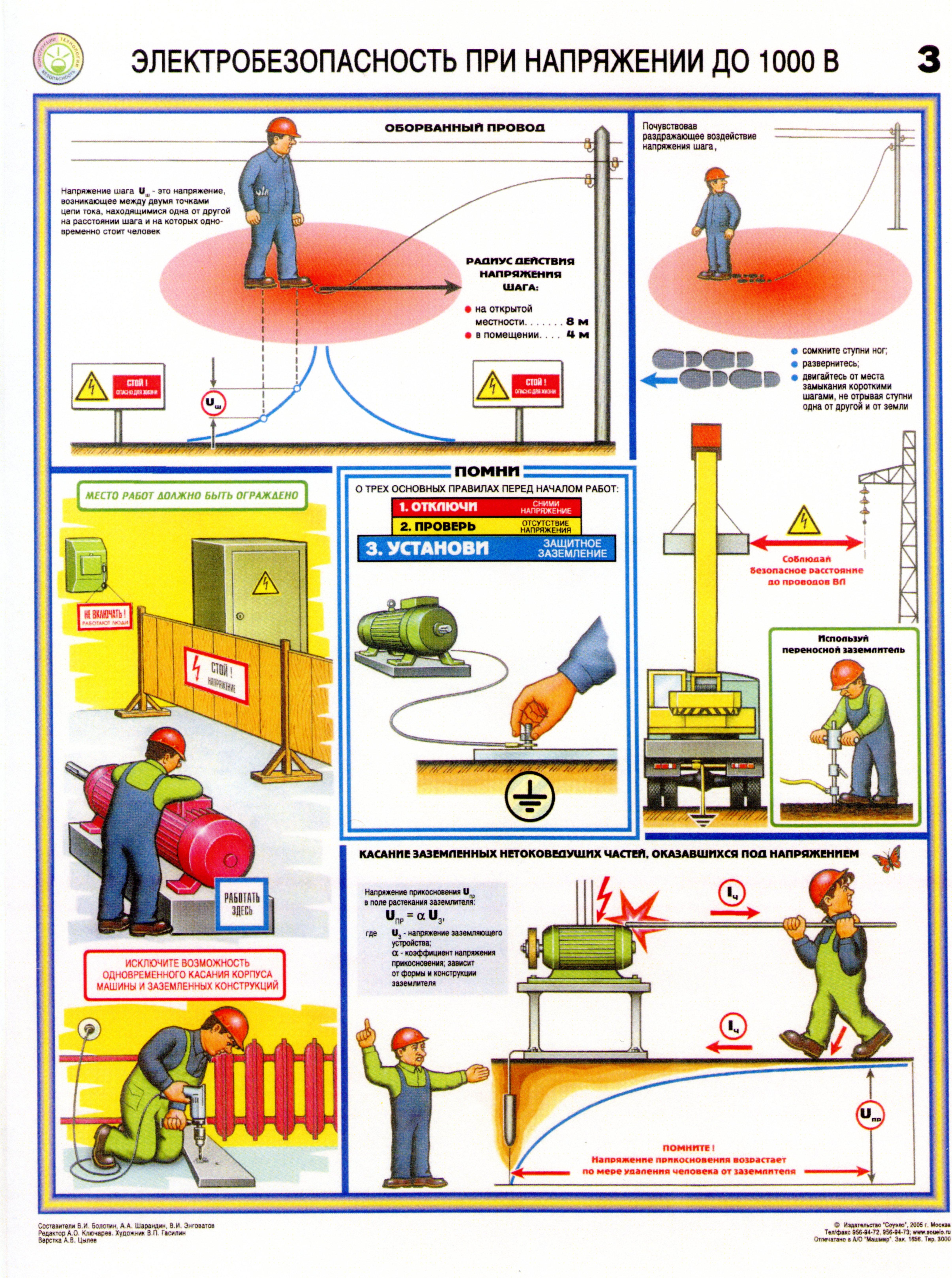 Тб по электробезопасности плакат электробезопасность при эксплуатации электрооборудования курсовой реферат