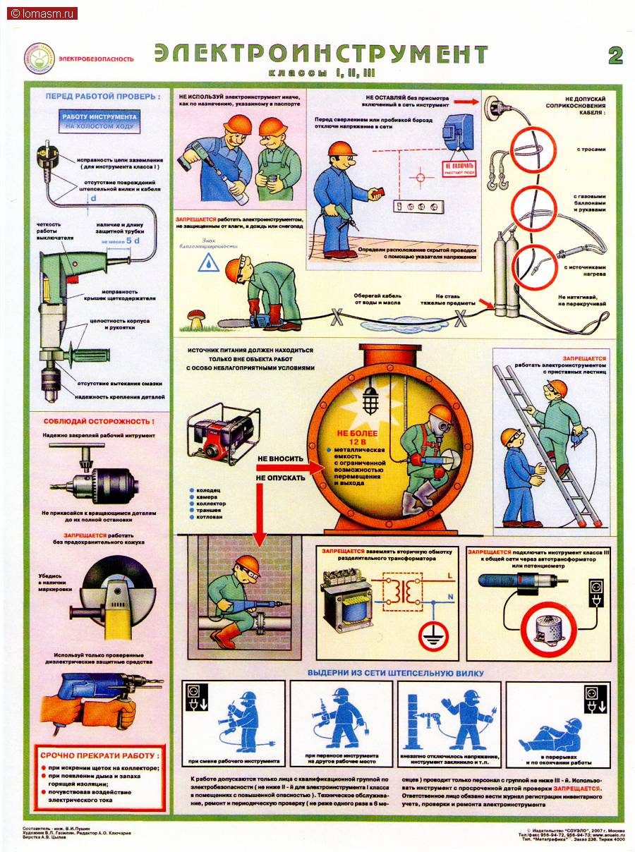 Картинки про электробезопасность на производстве
