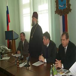 Заседание Попечительского Совета по восстановлению храма Святого князя Владимира