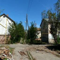 Ныне снесенная улица, Нововосточная