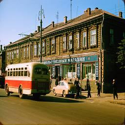 СССР в цветных фотографиях 1956