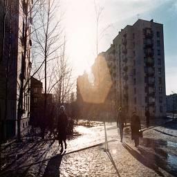 СССР в цветных фотографиях 1980